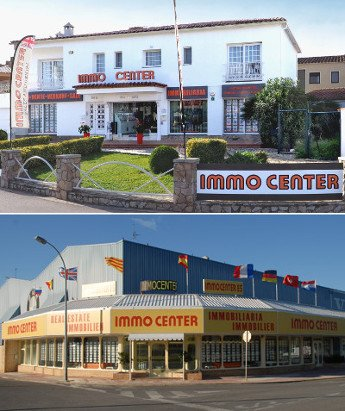 Las oficinas de Immo Center